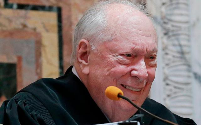 Judge Stephen Reinhardt (Photo from Twitter)
