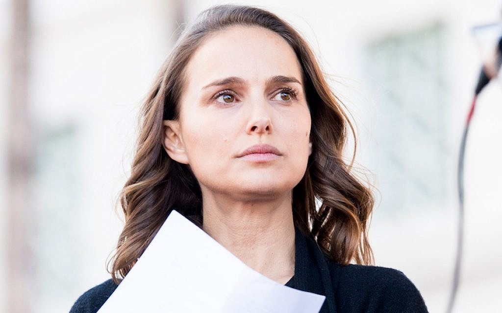 Natalie Portman at the women's march in Los Angeles, Jan. 20, 2018. (Photo by Emma McIntyre/Getty Images)