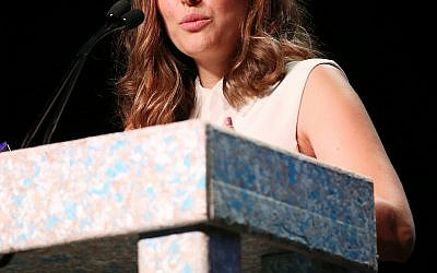 Natalie Portman decided she would not accept the Genesis Prize, awarded to celebrities who embody Jewish traits and character. (Photo by Phillip Faraone/Getty Images for Environmental Media Association)