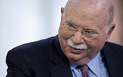 Michael Steinhardt, best known as the founder of Birthright, in New York, April 12, 2012. (Photo by Scott Eells/Bloomberg/Getty Images)