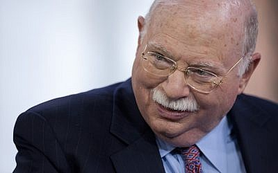 Michael Steinhardt, best known as the founder of Birthright, in New York, April 12, 2012. (Scott Eells/Bloomberg/Getty Images)