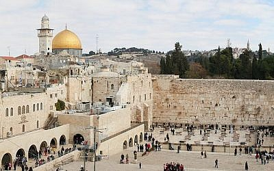 Jerusalem, the holiest city in Judaism and historic site of the two Temples, is also revered by Muslims and Christians alike. (Photo by Mikhail Valkov/Wikimedia Commons)