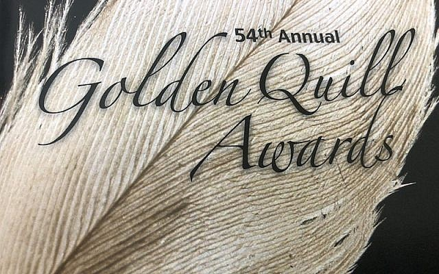 The Press Club of Western Pennsylvania hosted the 54th annual Golden Quill Awards on Thursday, May 24. (Photo from Golden Quills program)