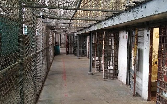 A cell block at the retired West Virginia State Penitentiary. (Photo by Adam Reinherz)