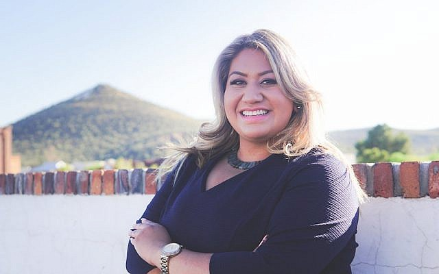 Alma Hernandez, a Mexican-American Jew and daughter of immigrants, is running for the Arizona House of Representatives and founded a progressive Jewish group in Tucson. (Photo courtesy of Alma Hernandez)