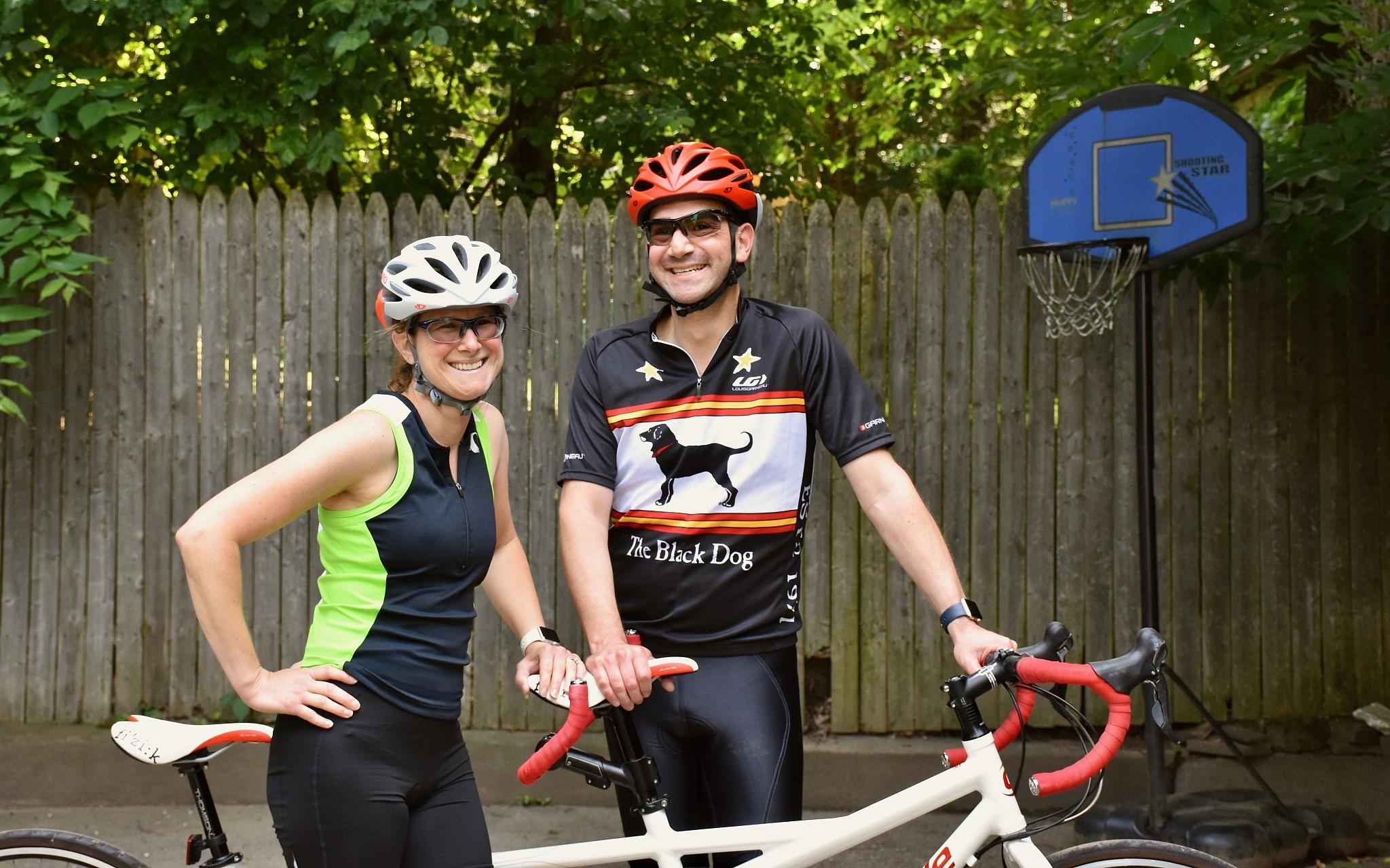 Cycling couple headed to Krakow to see Jewish community  a8e915e23