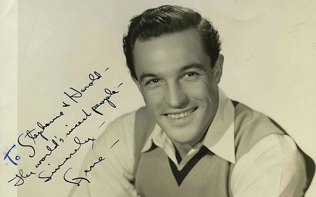 Gene Kelly  (Photo courtesy of Rauh Jewish History Program & Archives)