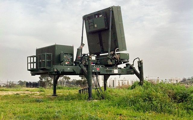 The Iron Dome system used to intercept rockets in Israel. (Photo from Wikimedia Commons)