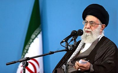 Iranian Supreme Leader Ayatollah Ali Khamenei. (Photo courtesy of the Office of the Iranian Supreme Leader/ AP Images)