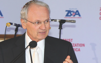 Mort Klein has been president of the Zionist Organization of America since 1993. (Photo courtesy of Zionist Organization of America)