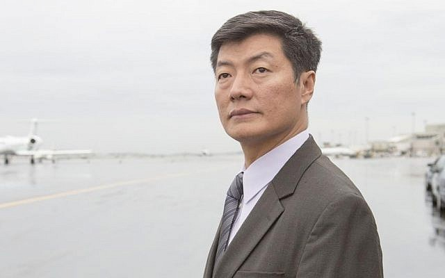 Lobsang Sangay, the head of the Tibetan government-in-exile quietly visited Israel over the last few days. (Photo from Wikimedia Commons)