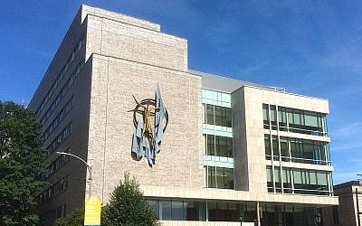 Parran Hall on the University of Pittsburgh campus is now empty due to the COVID-19 outbreak (Photo from Wikimedia Commons)
