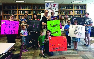 (Photo courtesy of Congregation Beth Shalom)