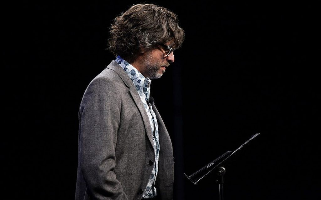 Michael Chabon speaking at the 2010 New Yorker Festival in New York, Oct. 1, 2010. (Photo by Neilson Barnard/Getty Images for The New Yorker)