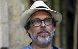 Michael Chabon shown during an interview in Jerusalem, June 18, 2017. (Photo by Menahem Kahana/AFP/Getty Images)
