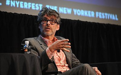Michael Chabon speaking at The New Yorker Festival in New York, Oct. 10, 2014. (Photo by Andrew Toth/Getty Images for The New Yorker Festival)