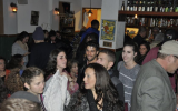 Guests mingling at a Keep Olim in Israel Hanukkah event in 2016. (Photo courtesy of KeepOlim.org)