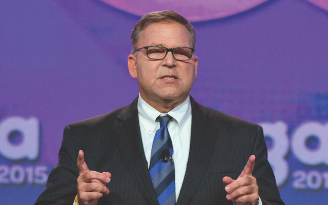 Jerry Silverman, president of the Jewish Federations of North America. (Photo courtesy of the Jewish Federations of North America)