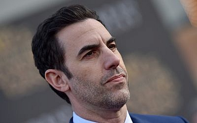 Sacha Baron Cohen at the El Capitan Theatre in Hollywood, Calif., in 2016. (Photo by Axelle/Bauer-Griffin/FilmMagic)
