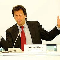 "Imran Khan at the ""Rule of Law: The Case of Pakistan"" conference in Berlin, Germany in 2009. (Photo by Stephan Röhl/Flickr)"
