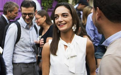 Julia Salazar is running for New York State Senate as a Democratic Socialist. (Photo by Charles Dunst/JTA)