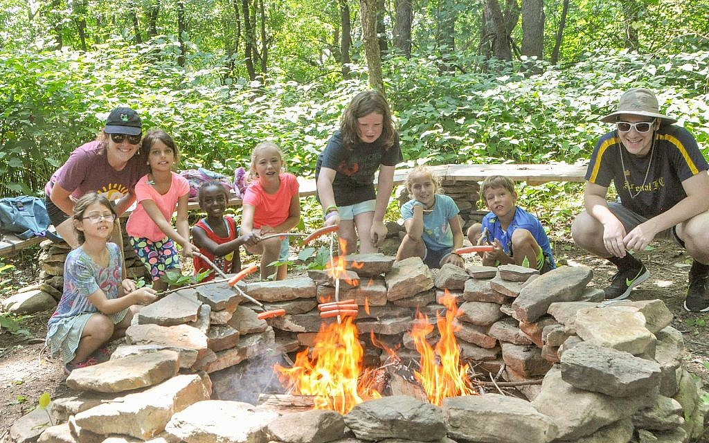 Campers at J&R in 2018.  (Photo courtesy of Jewish Community Center of Greater Pittsburgh)