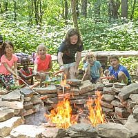 Campers at J&R.  (Photo courtesy of Jewish Community Center of Greater Pittsburgh)
