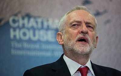 Jeremy Corbyn, leader of Great Britain's opposition Labour Party. (Photo by Chatham House, London/commons.wikimedia.org)