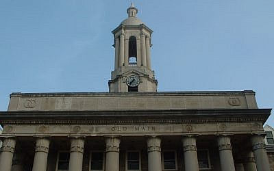 Penn States' Old Main. (Photo from Wikimedia Commons)