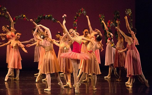 Pittsburgh Ballet Theatre School pre-professional students perform. (Photo by Rich Sofranko, courtesy of Greater Pittsburgh Arts Council)
