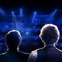 "A portion of a poster for ""The Simon & Garfunkel Story."" (Photo courtesy of The Simon and Garfunkel Story.)"