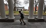 The Tufts University campus in suburban Boston has more than 5,500 undergraduates and 6,000 graduate students. (Photo by David L. Ryan/The Boston Globe via Getty Images)