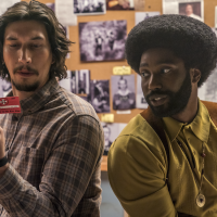 "Adam Driver, left, and John David Washington in a scene from Spike Lee's ""BlacKkKlansman."" (Photo courtesy of Focus Features)"