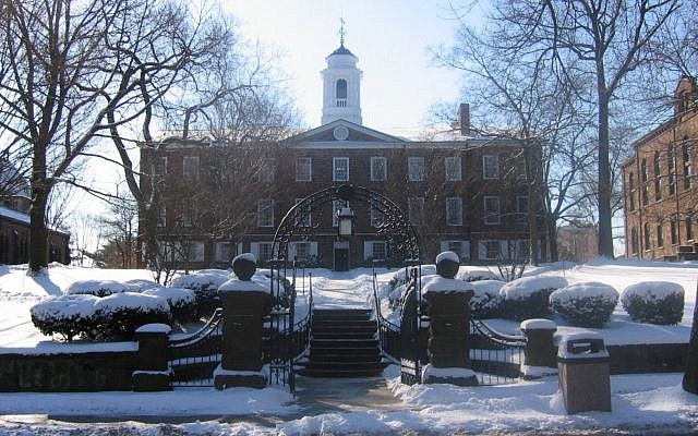 The Old Queens building at Rutgers University in New Brunswick, N.J. (Photo courtesy of Wikimedia Commons)
