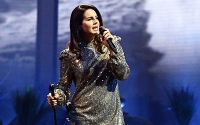 Lana Del Rey performing at the Mandalay Bay Events Center in Las Vegas, Feb. 16, 2018. (Photo by Ethan Miller/Getty Images)