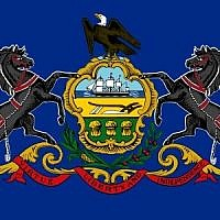 Flag of Pennsylvania   Courtesy of Wikimedia Commons
