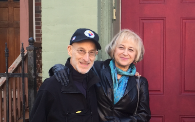 Howard M. Rieger and Beverly Siegel	   (Photo courtesy of Howard Rieger)