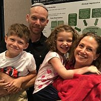 Rabbi Mark Asher Goodman and Noa Goodman moved with their children from Denver.   (Photos courtesy of Rabbi Mark Asher Goodman)