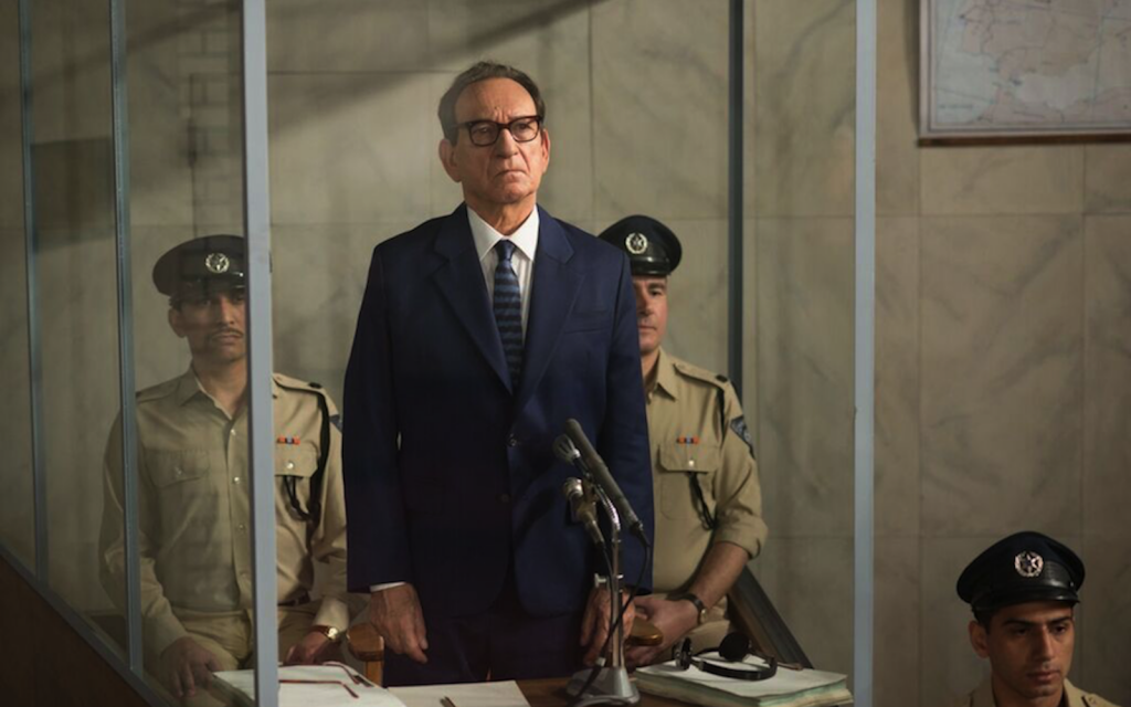"Ben Kingsley stars as Adolf Eichmann in ""Operation Finale.""    (Valeria Florini / Metro Goldwyn Mayer Pictures)"