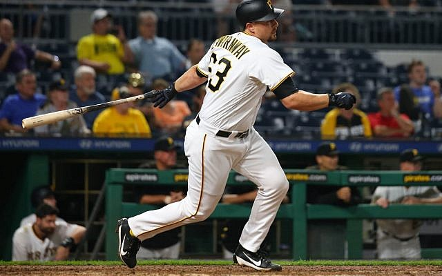 Ryan Lavarnway's time with Team Israel in the 2017 World Baseball Classic and late season play for the 2018 Pirates has inspired legions of fans.  (Photos courtesy of Pittsburgh Pirates)