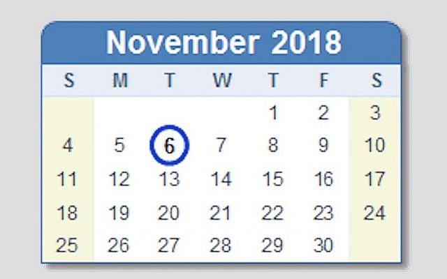 Calendar courtesy of Sapro Systems