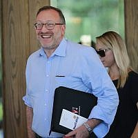 Seth Klarman in Sun Valley, Calif. 		   (Photo by Scott Olson/Getty Images)