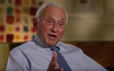 Leslie Wexner  (Photo courtesy screenshot from YouTube)