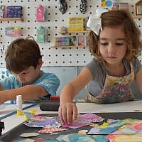 Hatch Studio provides space for children to explore their creativity. (Photo provided by Shannon Merenstein)