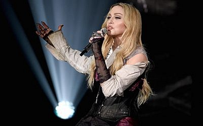 Madonna performs at the 2015 iHeartRadio Music Awards in Los Angeles, March 29, 2015. (Photo by Kevin Winter/Getty Images for iHeartMedia)