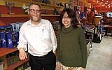 Dan and Baila Cohen are the fourth set of owners since Pinsker's was established in 1954. 		(Photo by Adam Reinherz)