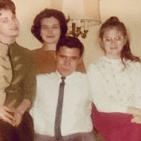 Barry Werber and the Garvey sisters in the early 1960s. Photo provided by Rita Miller.