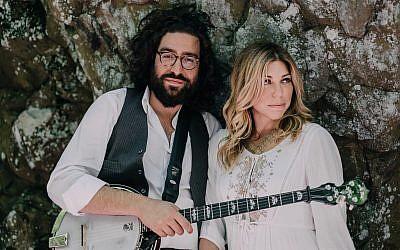 Doni Zasloff and husband Eric Lindberg  Photo courtesy of Nefesh Mountain