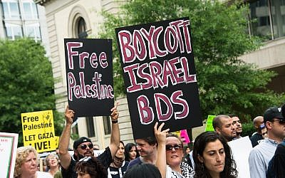 Thousands marched in Washington, D.C., to protest against U.S. support for Israel's offensive in Gaza in 2014.	Photo by rrodrickbeiler/iStockphoto.com