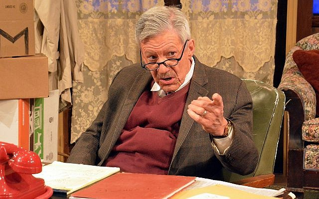 """""""Wiesenthal: Nazi Hunter"""" plays at the August Wilson Cultural Center  March 26-28.Photo courtesy of Tom Dugan"""